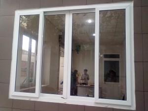 Cửa sổ mở trượt 4 cánh